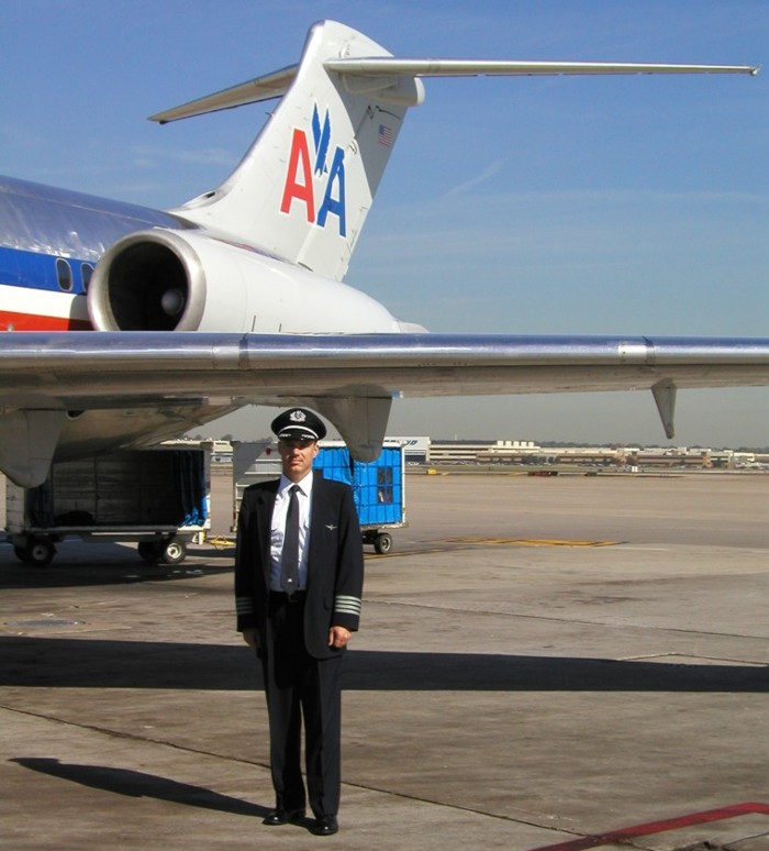 American Airlines MD80 Captain